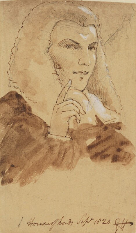 Robert Gifford, 1st Baron Gifford, by Sir George Hayter, 1820 -NPG 1695(e) - © National Portrait Gallery, London