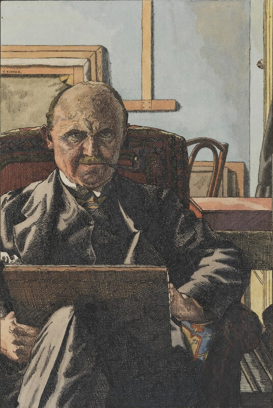 Charles Ginner, by Charles Ginner, 1940s - NPG 4992 - © reserved; collection National Portrait Gallery, London