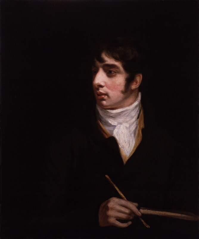 Thomas Girtin, by John Opie, circa 1800 -NPG 882 - © National Portrait Gallery, London