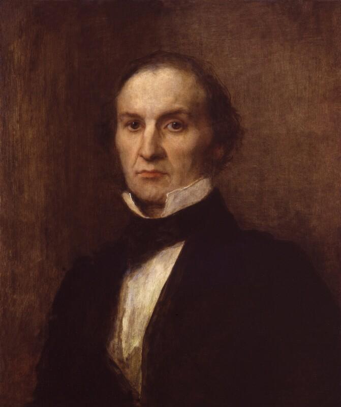 William Ewart Gladstone, by George Frederic Watts, 1859 - NPG 1126 - © National Portrait Gallery, London
