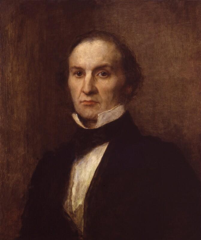 William Ewart Gladstone, by George Frederic Watts, 1859 - NPG 1126 - © National Portrait Gallery, London