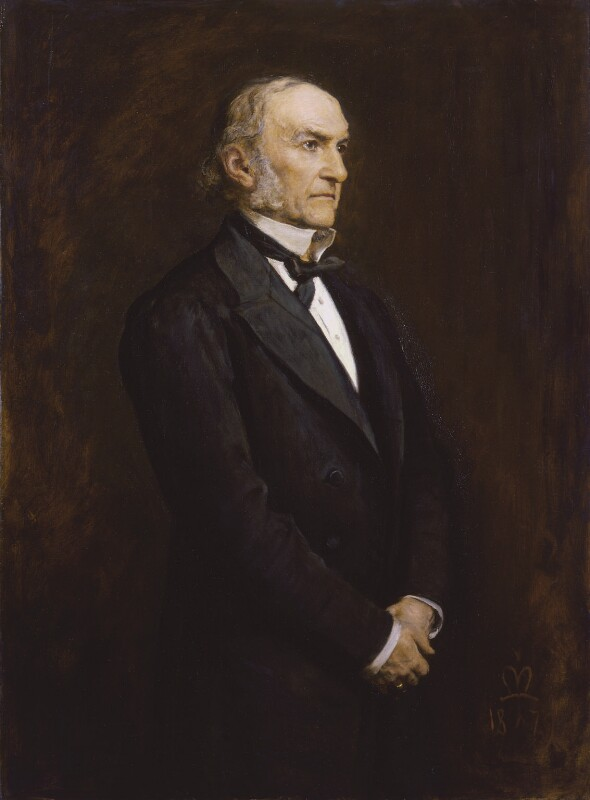 William Ewart Gladstone, by Sir John Everett Millais, 1st Bt, 1879 - NPG 3637 - © National Portrait Gallery, London