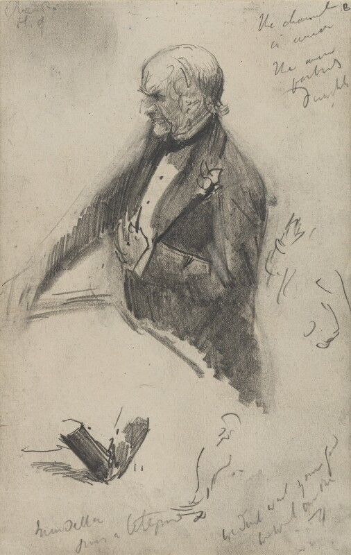 William Ewart Gladstone, by Sydney Prior Hall,  - NPG 2325 - © National Portrait Gallery, London