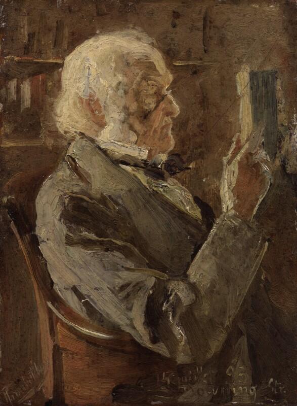 William Ewart Gladstone, by Prince Pierre Troubetskoy, 1893 - NPG 2159 - © National Portrait Gallery, London