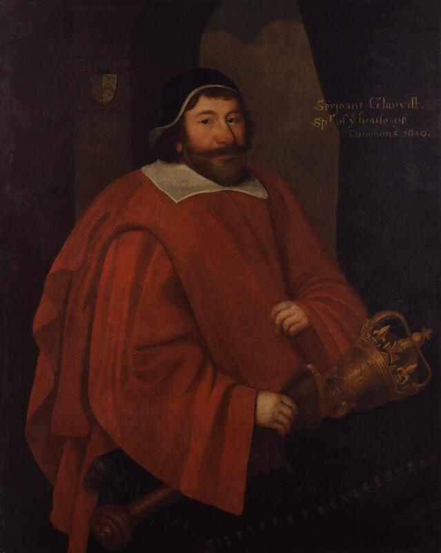 Sir John Glanville, by Unknown artist, late 17th century? - NPG 876 - © National Portrait Gallery, London