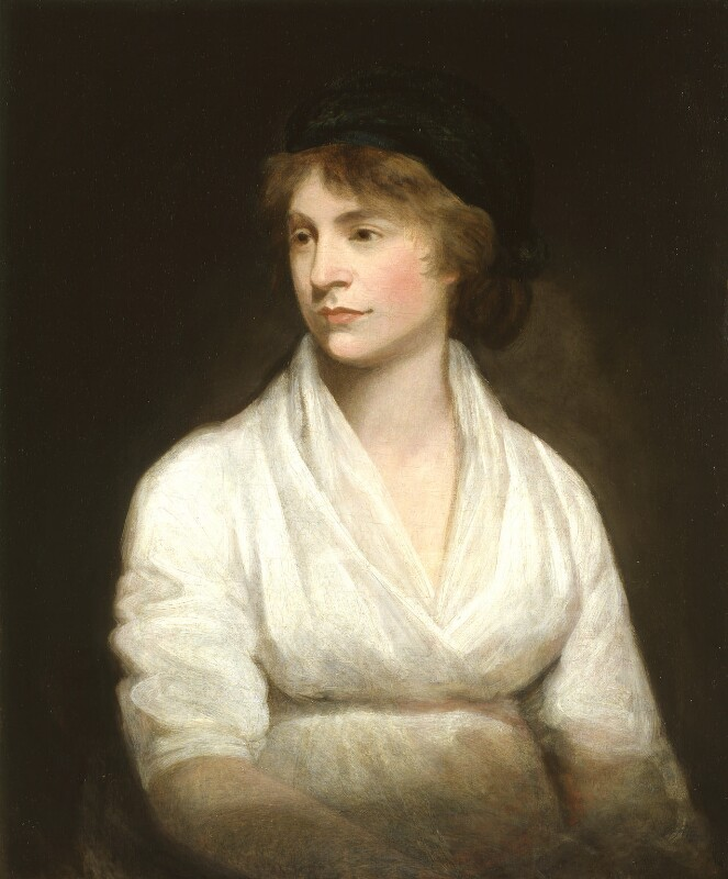 NPG 1237; Mary Wollstonecraft - Portrait - National Portrait Gallery
