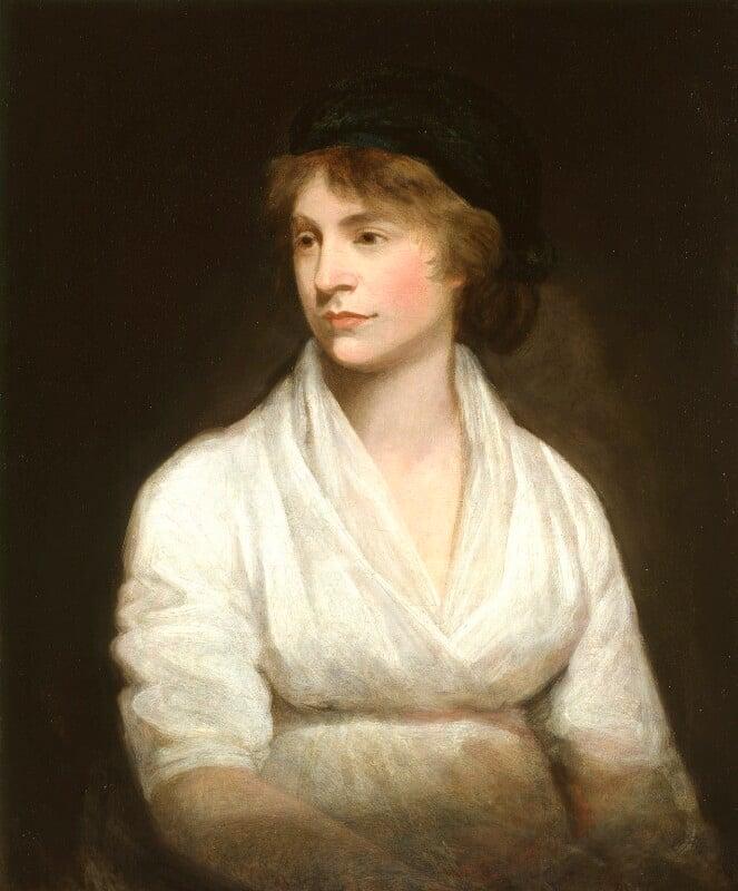 Mary Wollstonecraft, by John Opie, circa 1797 - NPG 1237 - © National Portrait Gallery, London