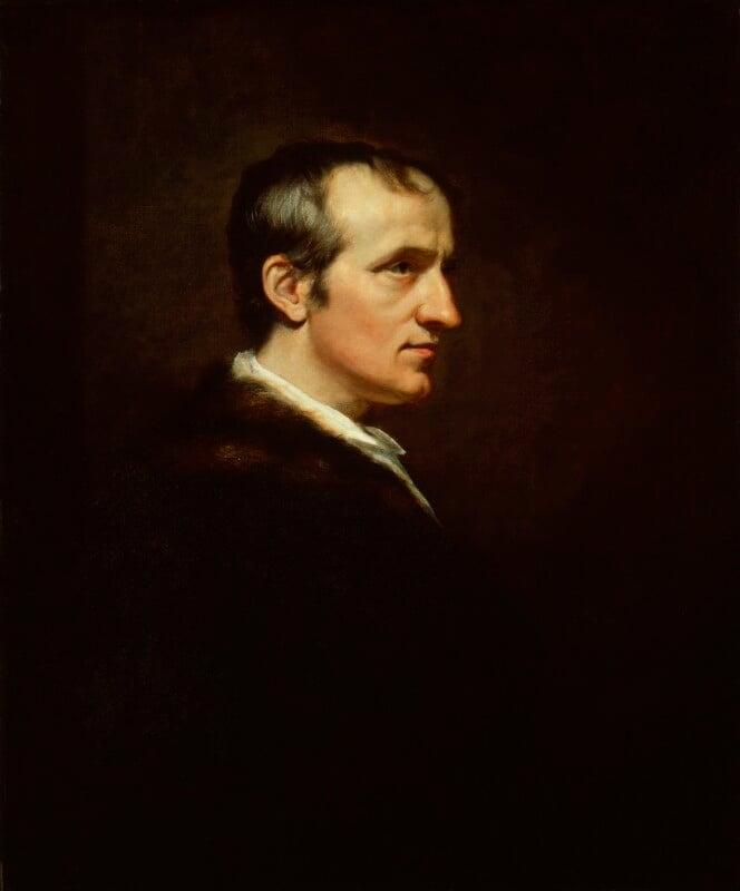 William Godwin, by James Northcote, 1802 - NPG 1236 - © National Portrait Gallery, London