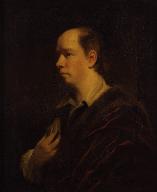 Oliver Goldsmith, after Sir Joshua Reynolds, 1770-1830, based on a work of 1769-1770 - NPG 828 - © National Portrait Gallery, London