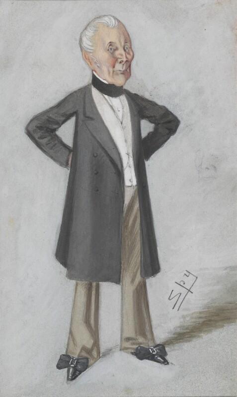 Sir William Maynard Gomm, by Sir Leslie Ward, published in Vanity Fair 30 August 1873 -NPG 2715 - © National Portrait Gallery, London