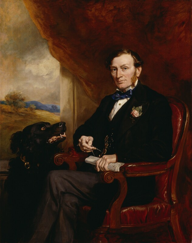 Sir Daniel Gooch, 1st Bt, by Sir Francis Grant, 1872 - NPG 5080 - © National Portrait Gallery, London