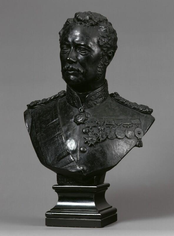 Charles George Gordon, by Sir Joseph Edgar Boehm, 1st Bt, circa 1885 - NPG 864 - © National Portrait Gallery, London