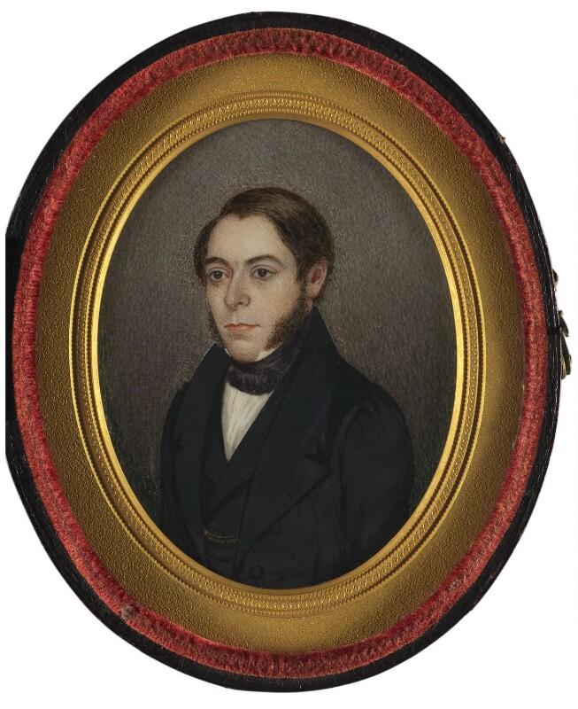 Philip Henry Gosse, by William Gosse, 1839 - NPG 2367 - © National Portrait Gallery, London