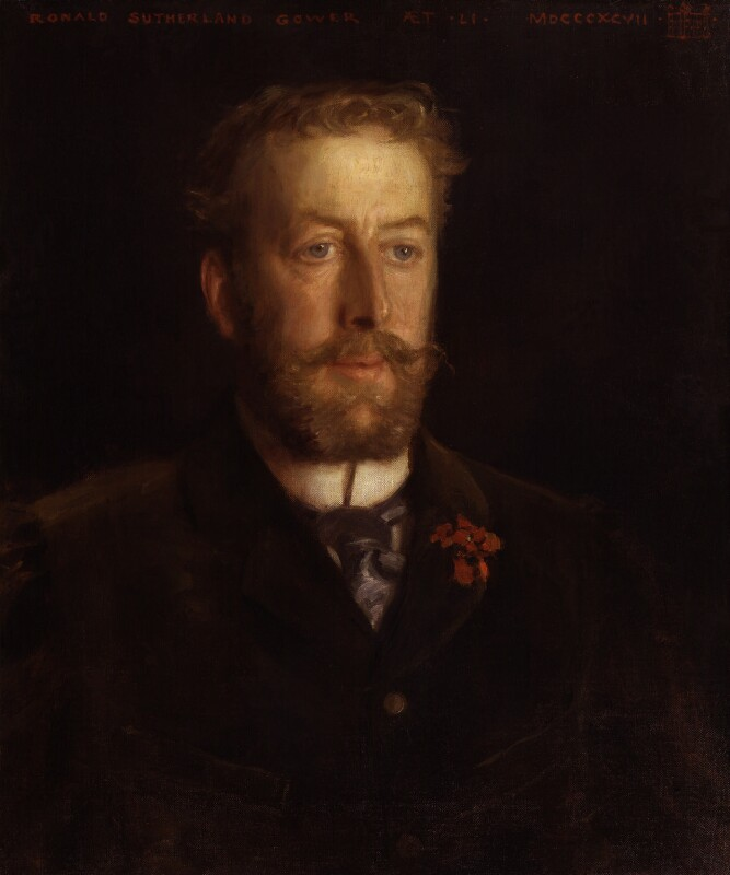 Lord Ronald Charles Sutherland-Leveson-Gower, by Harry Tuke, 1897 - NPG 4841 - © National Portrait Gallery, London