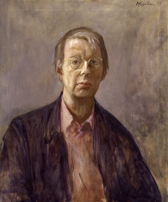 Sir Lawrence Gowing, by Rodrigo Moynihan, 1979 - NPG 5266 - © National Portrait Gallery, London