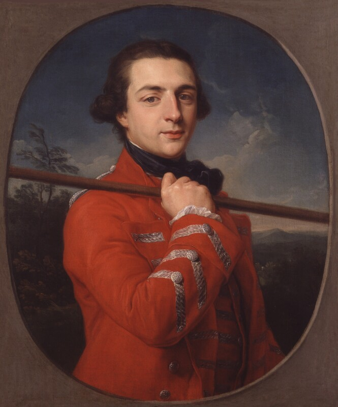 Augustus Henry FitzRoy, 3rd Duke of Grafton, by Pompeo Batoni, 1762 - NPG 4899 - © National Portrait Gallery, London