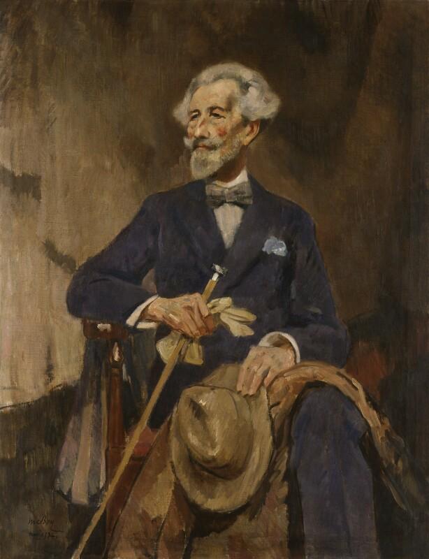 Robert Bontine Cunninghame Graham, by James McBey, 1934 - NPG 4626 - © National Portrait Gallery, London
