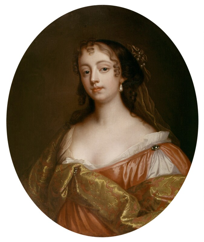 Elizabeth Hamilton, Countess de Gramont, by John Giles Eccardt, after  Sir Peter Lely, 18th century, based on a work of circa 1663 - NPG 20 - © National Portrait Gallery, London