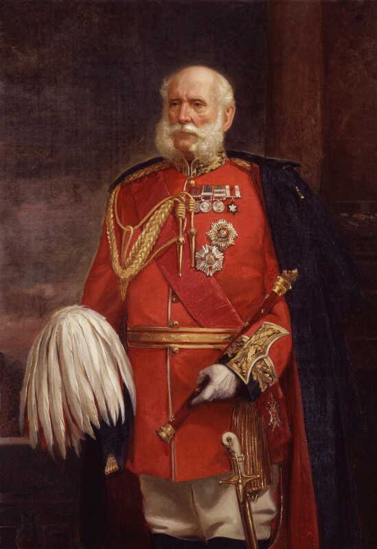 Sir Patrick Grant, by E.J. Turner; Maull & Fox, late 19th century, based on a work of 1883 -NPG 1454 - © National Portrait Gallery, London