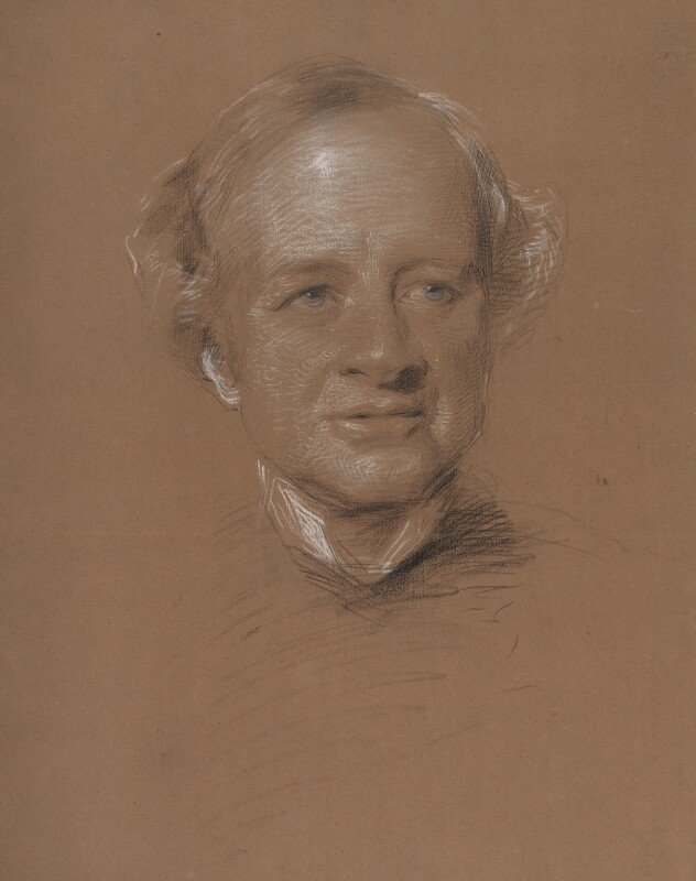 Granville George Leveson-Gower, 2nd Earl Granville, by George Richmond, 1876 - NPG 4900 - © National Portrait Gallery, London