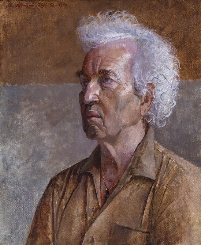 Robert Graves, by John Arthur Malcolm Aldridge, 1968 - NPG 4683 - © National Portrait Gallery, London