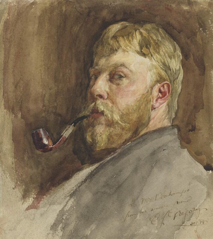 Edward John Gregory, by Edward John Gregory, 1879 - NPG 2621 - © National Portrait Gallery, London