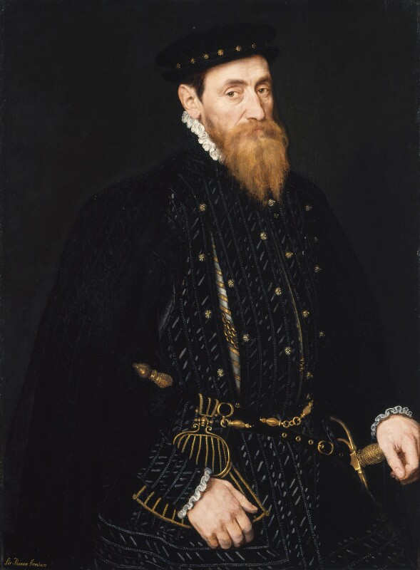 Sir Thomas Gresham, by Unknown Netherlandish artist, circa 1565 - NPG 352 - © National Portrait Gallery, London