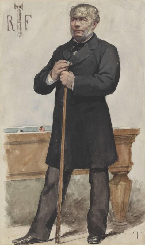 (François Paul) Jules Grévy, by Théobald Chartran ('T'), published in Vanity Fair 12 July 1879 - NPG 4707(11) - © National Portrait Gallery, London