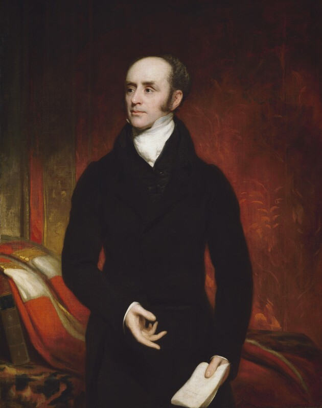 Charles Grey, 2nd Earl Grey, attributed to Thomas Phillips, circa 1820 - NPG 4137 - © National Portrait Gallery, London