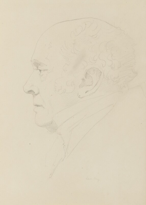Charles Grey, 2nd Earl Grey, by Sir Francis Leggatt Chantrey, after 1830 -NPG 316a(59) - © National Portrait Gallery, London
