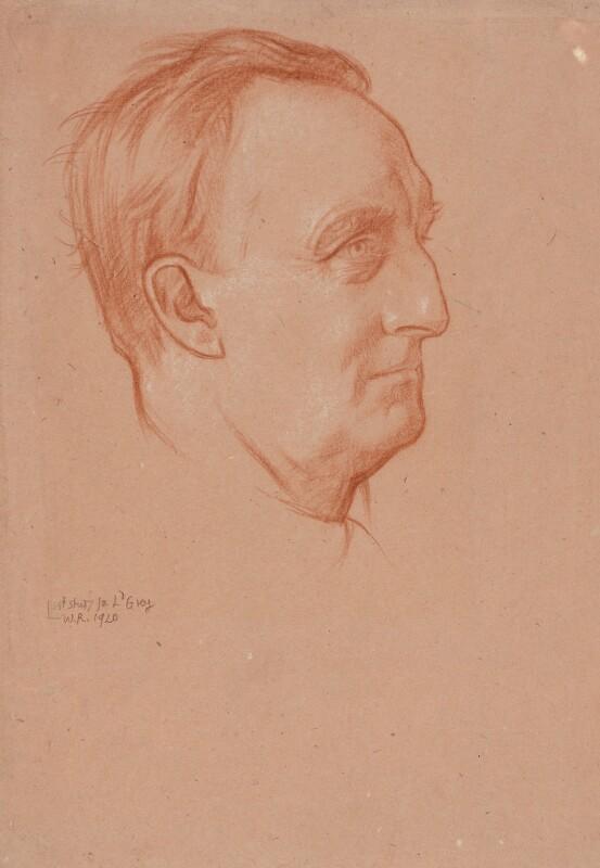 Edward Grey, 1st Viscount Grey of Fallodon, by Sir William Rothenstein, 1920 - NPG 3869 - © National Portrait Gallery, London