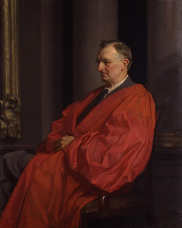 Edward Grey, 1st Viscount Grey of Fallodon, by Harold Speed, 1927-1934 - NPG 3120 - © National Portrait Gallery, London