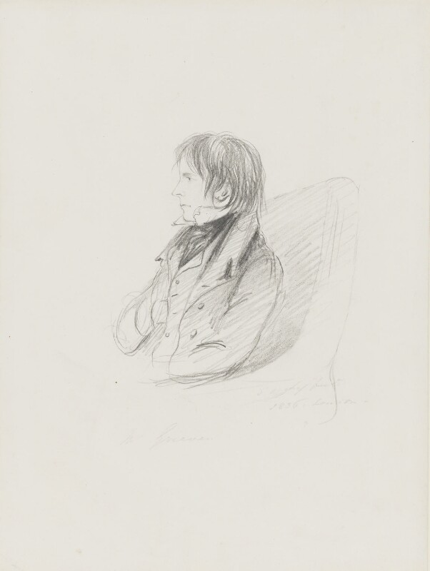 Thomas Grieve, by Alfred, Count D'Orsay, 1836 -NPG 4026(32) - © National Portrait Gallery, London