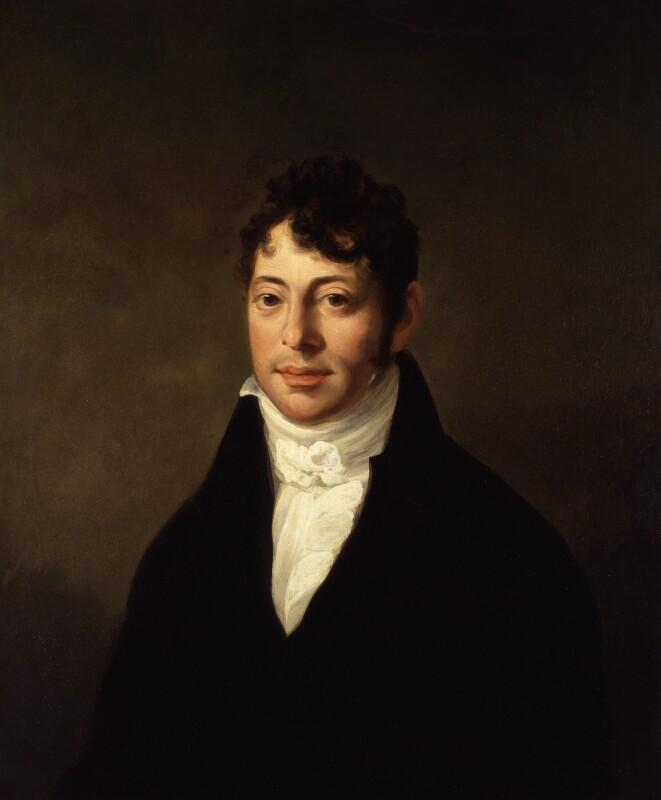 Joseph Grimaldi, by John Cawse, 1807 - NPG 827 - © National Portrait Gallery, London