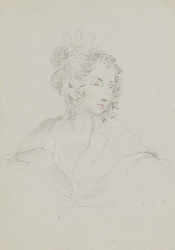 Countess Teresa Guiccioli, by William Brockedon, 1823-1849 - NPG 2515(61) - © National Portrait Gallery, London