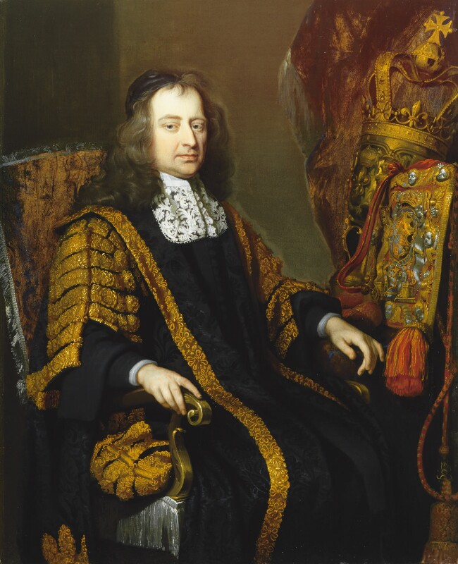 Francis North, 1st Baron Guilford, attributed to John Riley, circa 1682 - NPG 4708 - © National Portrait Gallery, London
