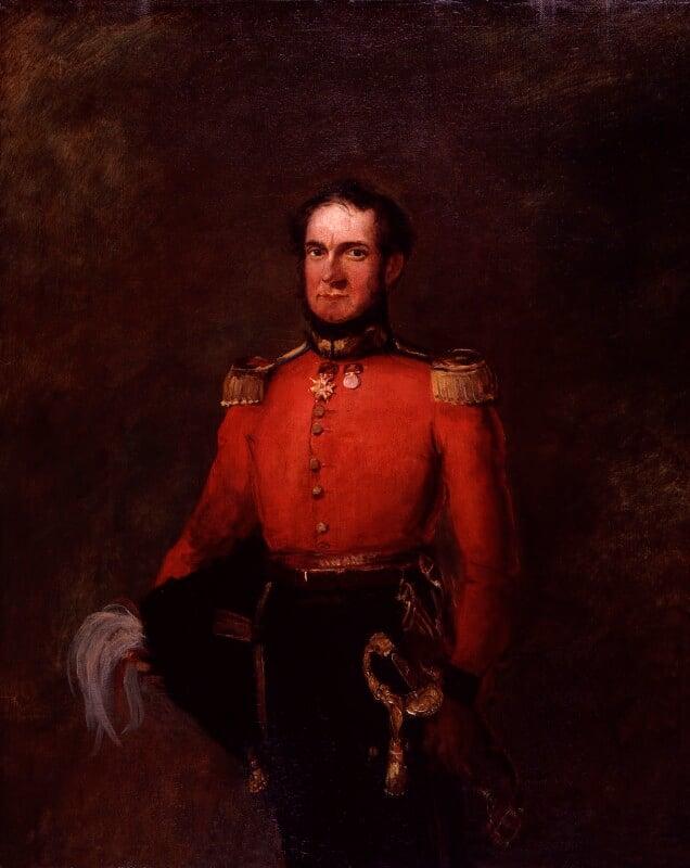 John Gurwood, by William Salter, 1834-1840 -NPG 3719 - © National Portrait Gallery, London