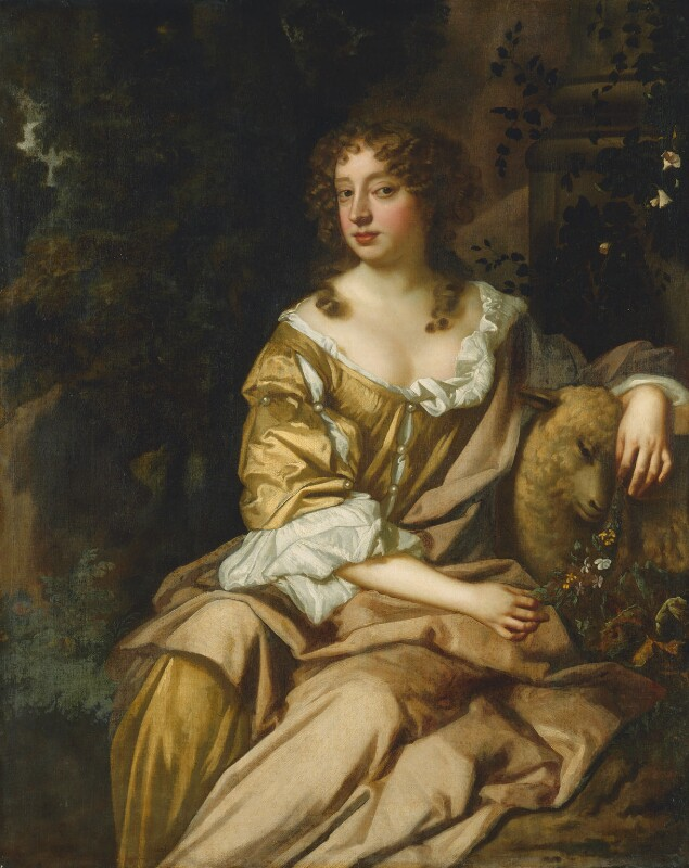 Unknown woman, formerly known as Nell Gwyn, studio of Sir Peter Lely, circa 1675 - NPG 3976 - © National Portrait Gallery, London