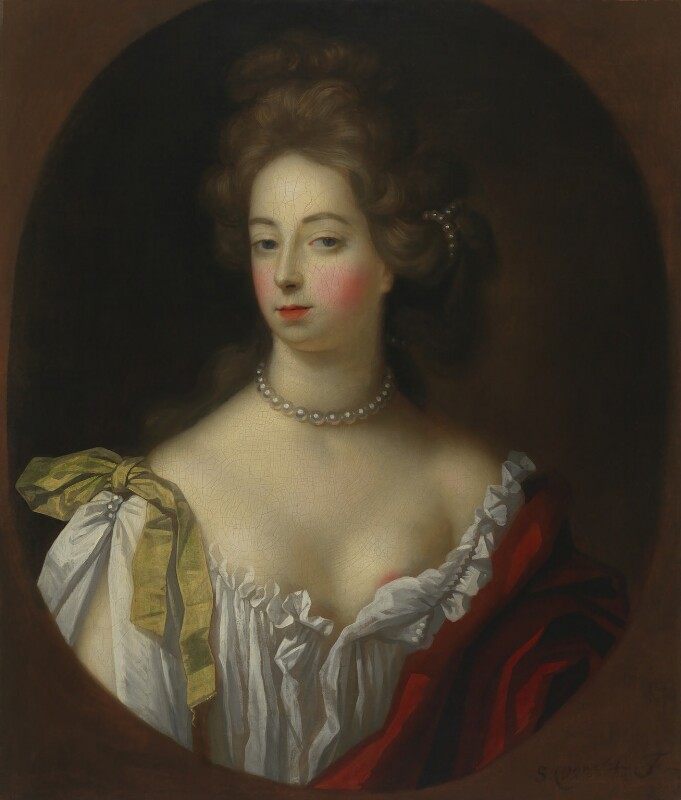 Nell Gwyn, by Simon Verelst, circa 1680 - NPG 2496 - © National Portrait Gallery, London