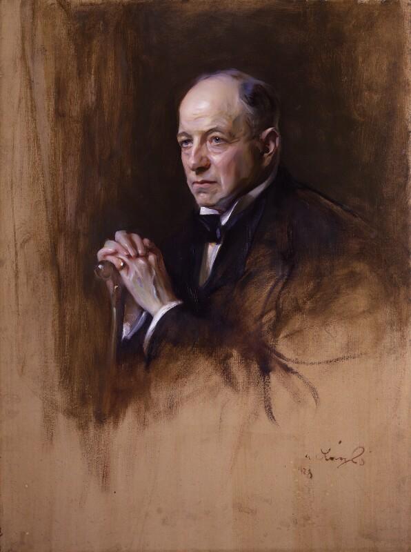 Richard Burdon Haldane, Viscount Haldane, by Philip Alexius de László, 1928 - NPG 2364 - © National Portrait Gallery, London