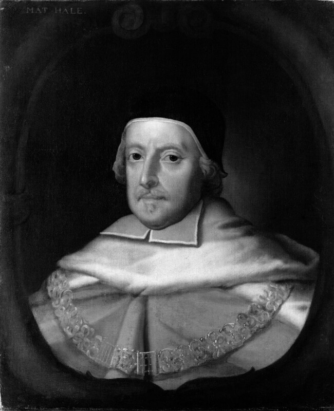 Sir Matthew Hale, after John Michael Wright, based on a work of circa 1670 - NPG 465 - © National Portrait Gallery, London