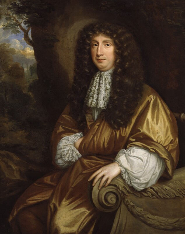 George Savile, 1st Marquess of Halifax, by Mary Beale, circa 1674-1676 - NPG 2962 - © National Portrait Gallery, London
