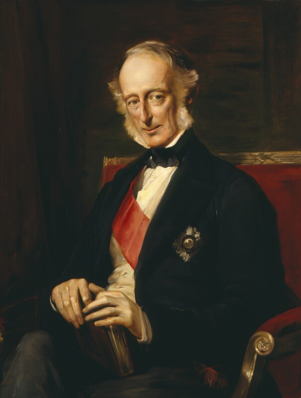 Charles Wood, 1st Viscount Halifax, by Anthony de Brie (Bree), after  George Richmond, late 19th century, based on a work of 1873 - NPG 1677 - © National Portrait Gallery, London