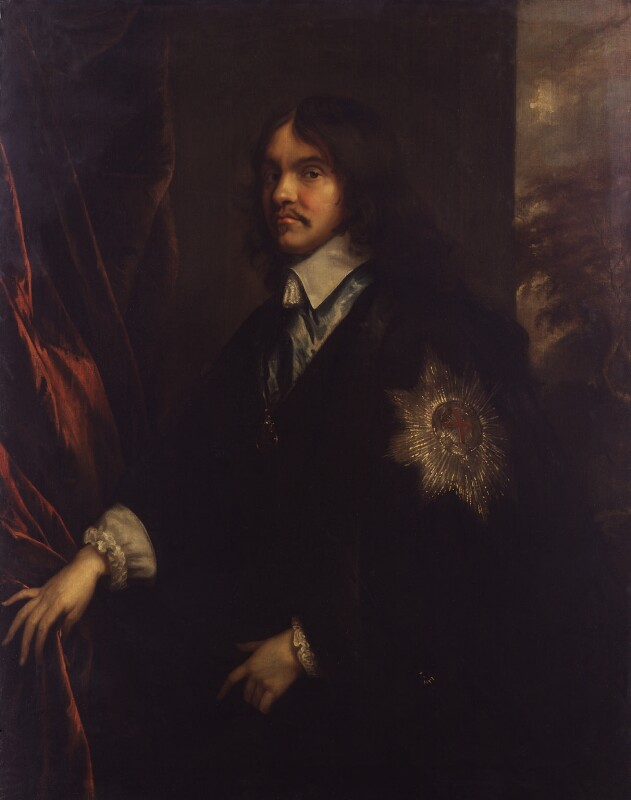 William Hamilton, 2nd Duke of Hamilton, after Adriaen Hanneman, 1625-1650 - NPG 2120 - © National Portrait Gallery, London
