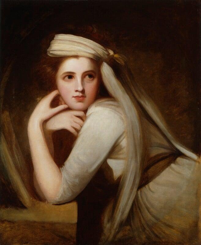 Emma Hamilton, by George Romney, circa 1785 - NPG 294 - © National Portrait Gallery, London