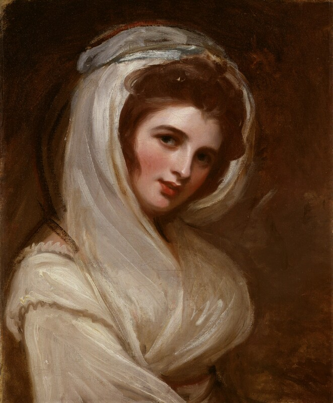 Emma Hamilton, by George Romney, circa 1785 - NPG 4448 - © National Portrait Gallery, London