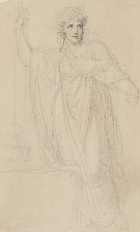 Emma Hamilton, by Richard Cosway, circa 1801 - NPG 2941 - © National Portrait Gallery, London