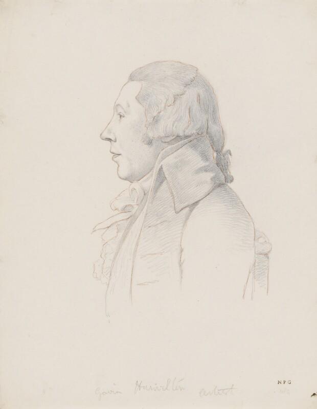 William Hamilton, by William Daniell; George Dance, circa 1802-1814, based on a work of 1793 -NPG 3089(7) - © National Portrait Gallery, London