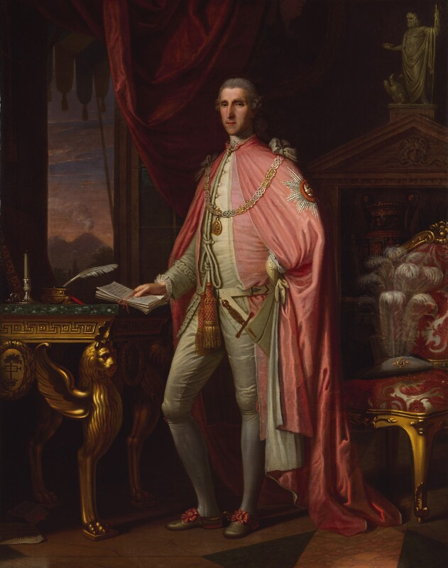 Sir William Hamilton, by David Allan, 1775 -NPG 589 - © National Portrait Gallery, London