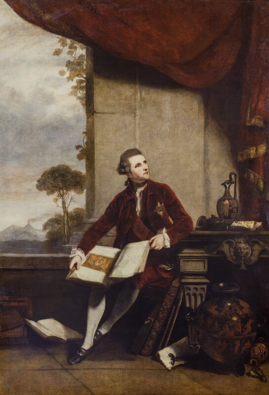 Sir William Hamilton, by Sir Joshua Reynolds, 1777 - NPG 680 - © National Portrait Gallery, London